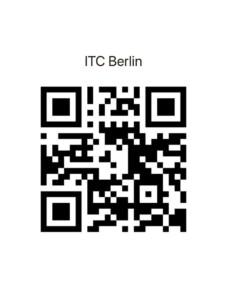 QR-Code Newsletter ITC